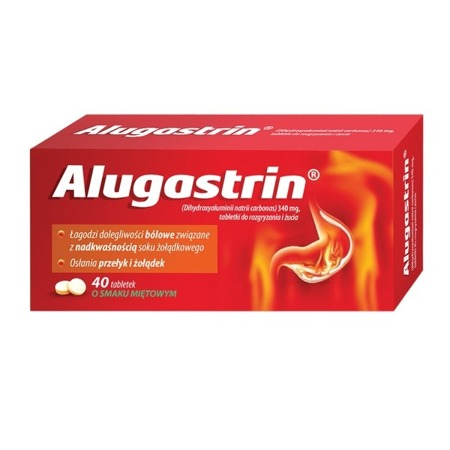 ALUGASTRIN 40TABLETEK DO SSANIA
