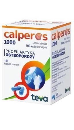 CALPEROS 1000 100 KAPSUŁEK TWARDYCH