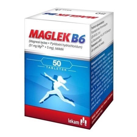 MAGLEK B6 50 TABLETEK