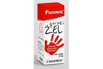 PAZUREK GORZKI ŻEL P/OBGRYZANIU PAZNOKCI 10ML