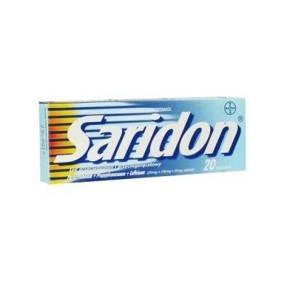 SARIDON 20 TABLETEK